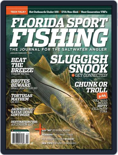 Florida Sport Fishing January 1st, 2010 Digital Back Issue Cover