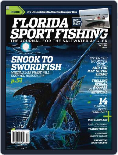 Florida Sport Fishing (Digital) August 31st, 2009 Issue Cover