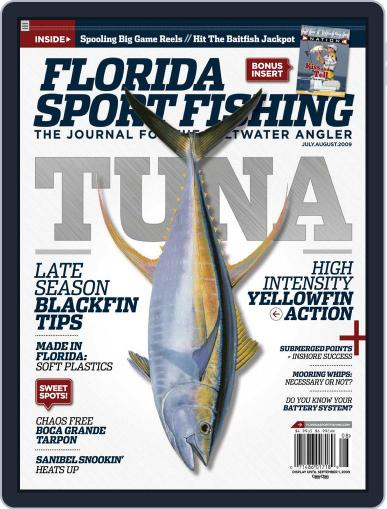 Florida Sport Fishing (Digital) July 2nd, 2009 Issue Cover