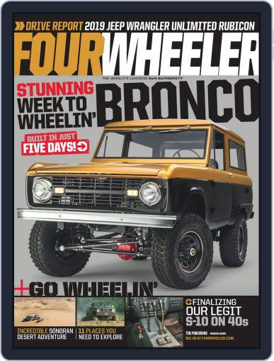 Four Wheeler (Digital) March 1st, 2020 Issue Cover