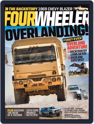Four Wheeler (Digital) November 1st, 2019 Issue Cover