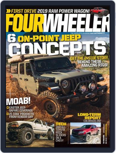 Four Wheeler (Digital) September 1st, 2019 Issue Cover