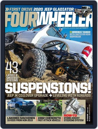 Four Wheeler August 1st, 2019 Digital Back Issue Cover