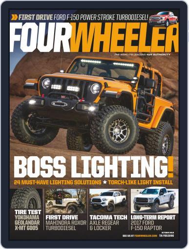 Four Wheeler (Digital) October 1st, 2018 Issue Cover