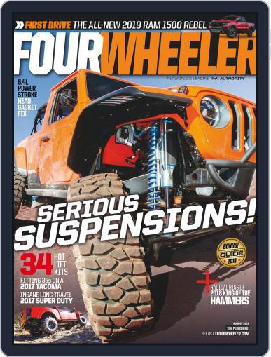 Four Wheeler August 1st, 2018 Digital Back Issue Cover
