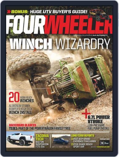 Four Wheeler January 1st, 2018 Digital Back Issue Cover