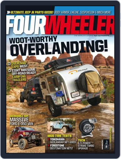 Four Wheeler (Digital) November 1st, 2017 Issue Cover
