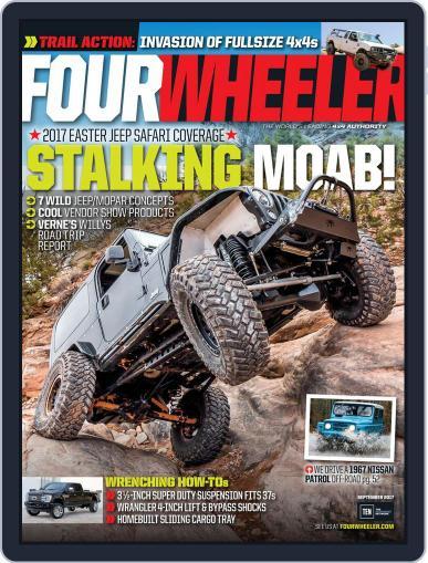 Four Wheeler September 1st, 2017 Digital Back Issue Cover