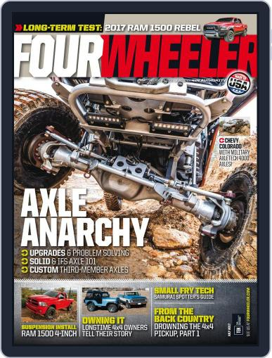 Four Wheeler (Digital) July 1st, 2017 Issue Cover