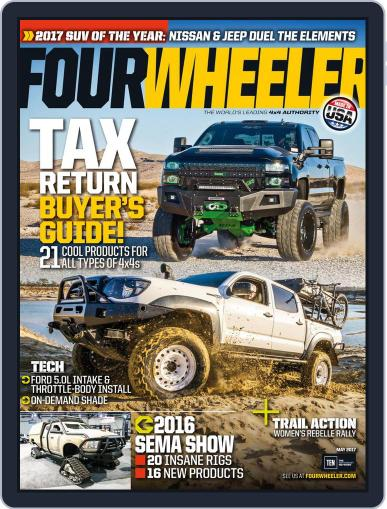 Four Wheeler (Digital) May 1st, 2017 Issue Cover