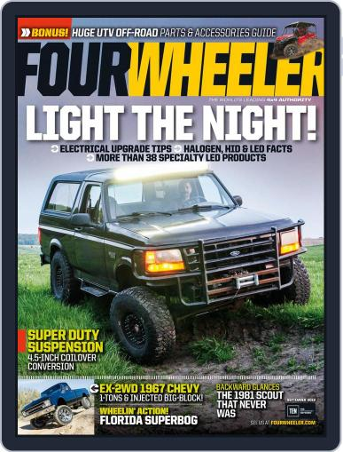 Four Wheeler July 8th, 2016 Digital Back Issue Cover