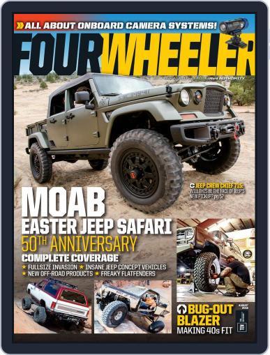 Four Wheeler (Digital) June 10th, 2016 Issue Cover