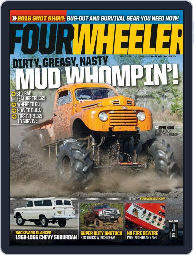 Four Wheeler (Digital) May 6th, 2016 Issue Cover