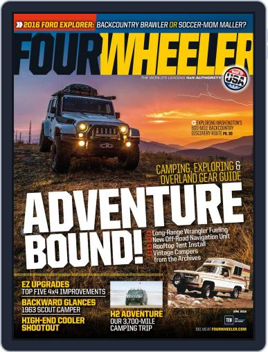 Four Wheeler (Digital) April 8th, 2016 Issue Cover