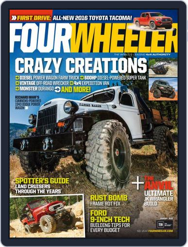 Four Wheeler (Digital) January 1st, 2016 Issue Cover