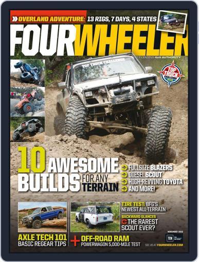 Four Wheeler (Digital) November 1st, 2015 Issue Cover