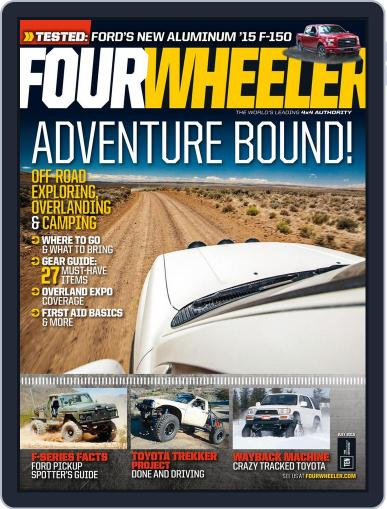 Four Wheeler July 1st, 2015 Digital Back Issue Cover