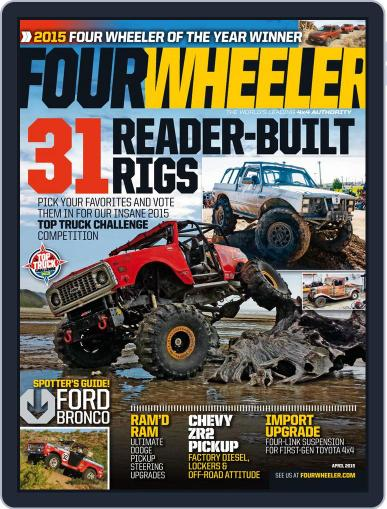 Four Wheeler (Digital) April 1st, 2015 Issue Cover