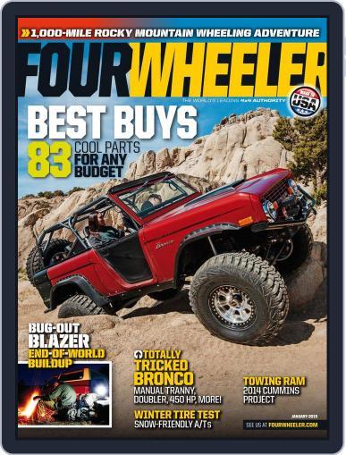 Four Wheeler (Digital) January 1st, 2015 Issue Cover