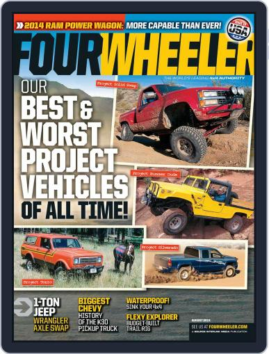 Four Wheeler (Digital) June 13th, 2014 Issue Cover