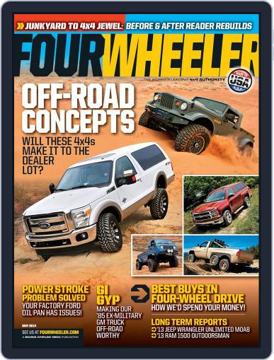 Four Wheeler March 21st, 2014 Digital Back Issue Cover