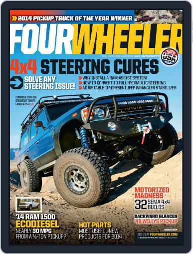 Four Wheeler (Digital) January 14th, 2014 Issue Cover