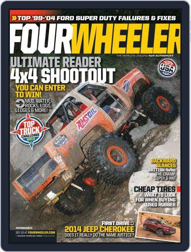 Four Wheeler October 15th, 2013 Digital Back Issue Cover