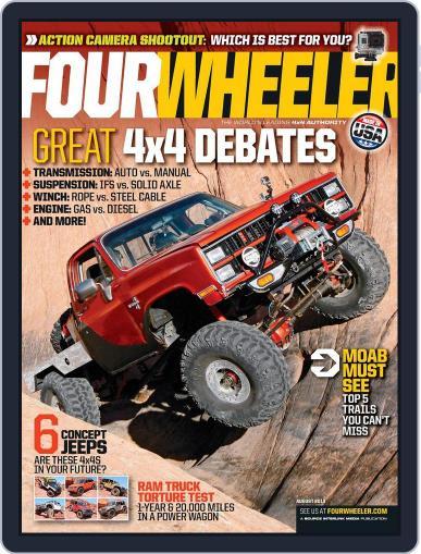 Four Wheeler (Digital) June 18th, 2013 Issue Cover