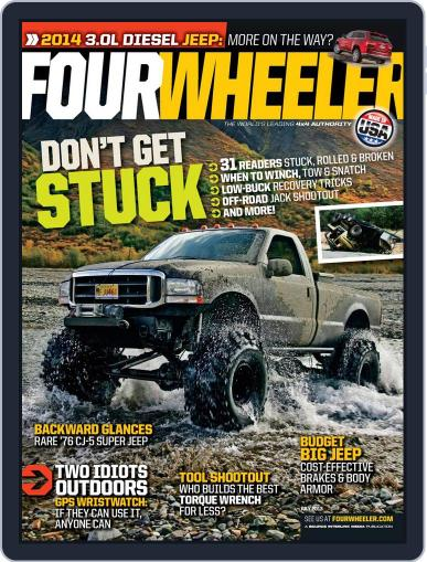 Four Wheeler May 14th, 2013 Digital Back Issue Cover