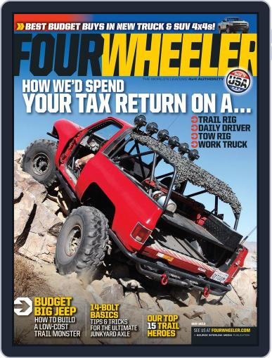 Four Wheeler (Digital) March 19th, 2013 Issue Cover