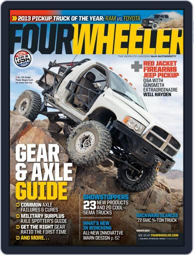 Four Wheeler January 15th, 2013 Digital Back Issue Cover
