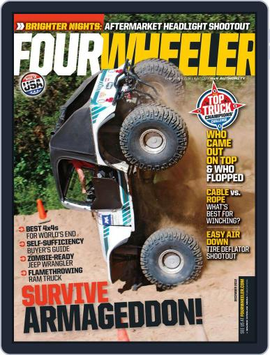 Four Wheeler (Digital) October 19th, 2012 Issue Cover