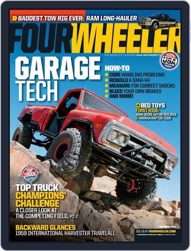 Four Wheeler (Digital) September 18th, 2012 Issue Cover