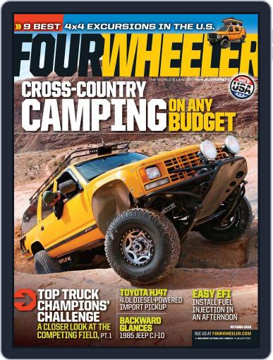 Four Wheeler (Digital) August 14th, 2012 Issue Cover