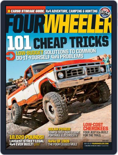 Four Wheeler April 17th, 2012 Digital Back Issue Cover