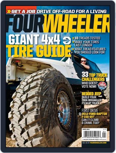 Four Wheeler (Digital) February 14th, 2012 Issue Cover