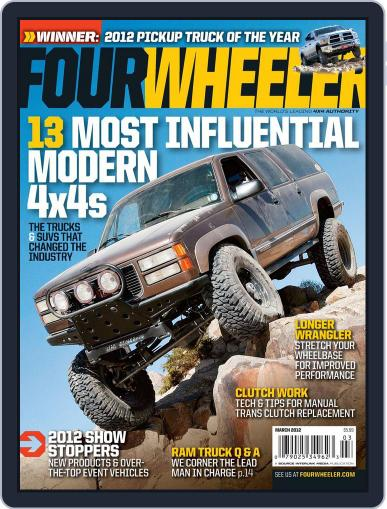 Four Wheeler January 17th, 2012 Digital Back Issue Cover
