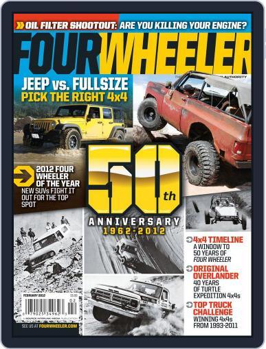 Four Wheeler (Digital) December 20th, 2011 Issue Cover