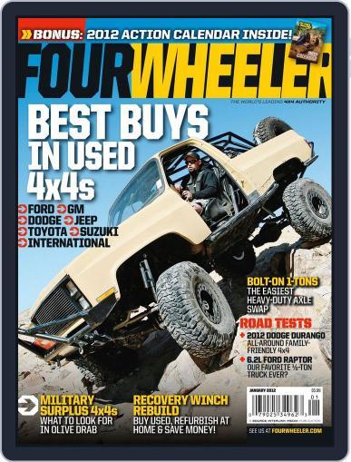 Four Wheeler (Digital) November 15th, 2011 Issue Cover
