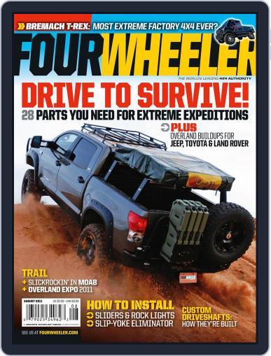 Four Wheeler (Digital) June 21st, 2011 Issue Cover