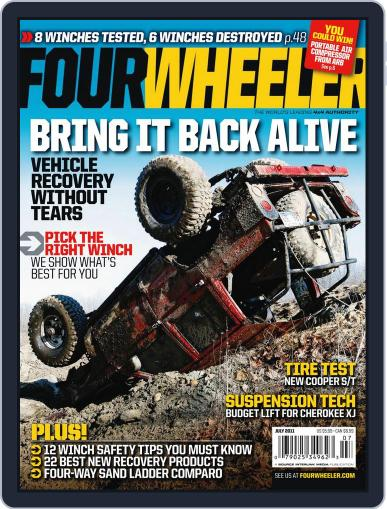Four Wheeler May 17th, 2011 Digital Back Issue Cover