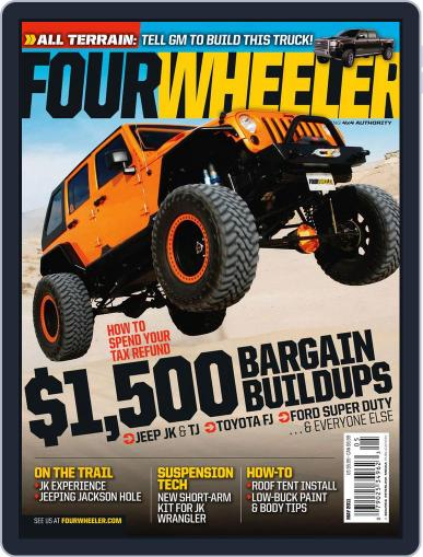 Four Wheeler (Digital) March 22nd, 2011 Issue Cover