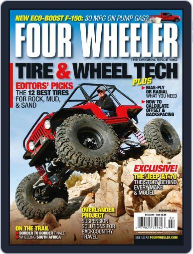 Four Wheeler (Digital) December 21st, 2010 Issue Cover