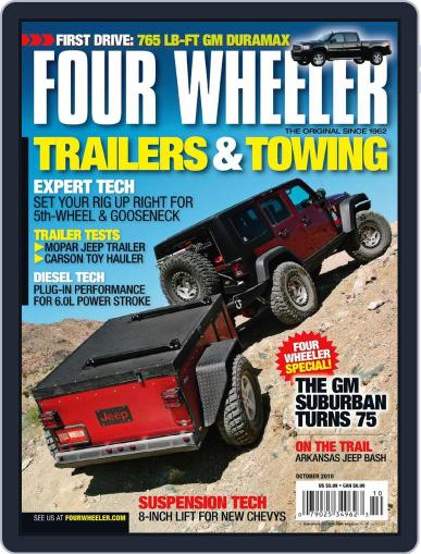 Four Wheeler August 17th, 2010 Digital Back Issue Cover