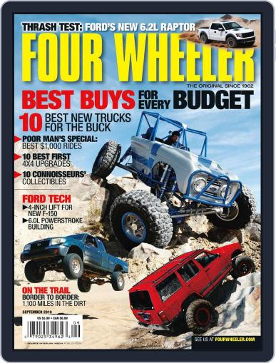 Four Wheeler July 20th, 2010 Digital Back Issue Cover