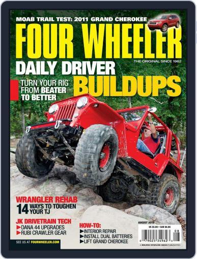 Four Wheeler June 22nd, 2010 Digital Back Issue Cover