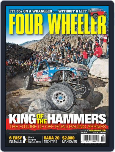 Four Wheeler April 20th, 2010 Digital Back Issue Cover