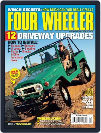 Four Wheeler (Digital) March 23rd, 2010 Issue Cover