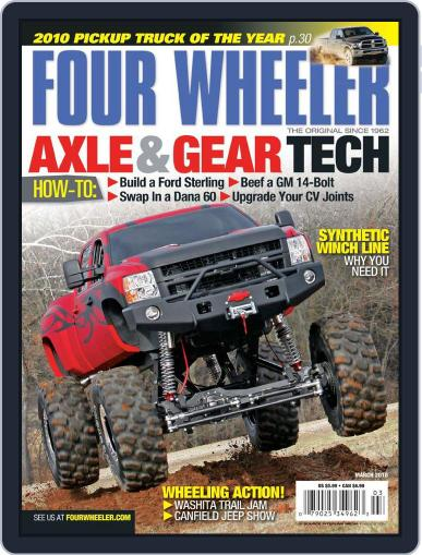 Four Wheeler (Digital) January 19th, 2010 Issue Cover