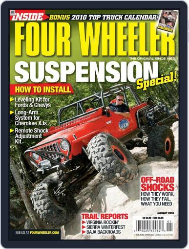Four Wheeler November 17th, 2009 Digital Back Issue Cover